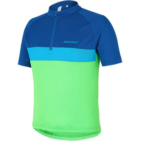 Ziener Caddour Jersey Juniors signal green